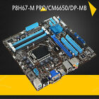 For ASUS P8H67 M PRO CM6650 DP MB Intel H67 LGA1155 Desktop Motherboard