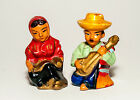 Mexican Couple Salt  Pepper Shakers