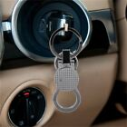 High-grade Men Alloy Key Ring Business Use Black/silve with Two Split Rings D
