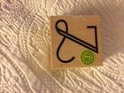 Hero Arts rubber wood stamp letter Z stamp wonderful new condition USA