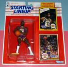 1990 JAMES WORTHY Los Angeles LA Lakers #42 -FREE s/h- Starting Lineup L.A. NM-