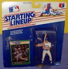 1989 PAUL MOLITOR Milwaukee Brewers HOF - FREE s/h - Kenner Starting Lineup
