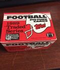 1989 TOPPS Football Traded Factory set Barry Sanders Troy Aikman ROOKIE