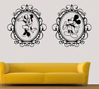 Disney Wall Art Stickers Minnie And Mickey Mouse Vinyl Decals Single Twin Pack