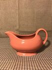 HLC FIESTA WARE Rose Sauce Gravy Boat pink