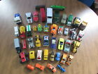 HUGE VINTAGE PLASTIC AND DIECAST MIXED VEHICLE AND SCALE LOT OF 44 JMSR21