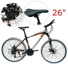 26 inch Mountain Aluminum Bike Bicycle Alloy Frame Man Disc Brakes Cycling