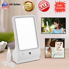 SQUARE TOUCH SCREEN WATER MIRROR ADJUSTABLE TABLE DESK LED LIGHTED HOME MAKEUPT