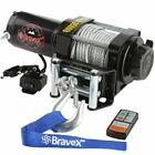 Classic 3500lbs 12V Electric Recovery Winch Truck SUV Durable Remote Control 4WD