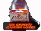 HONDA REBEL 300 CMX LED REAR INTEGRATED TURN SIGNAL BRAKE LIGHT BAR TAG BRACKET