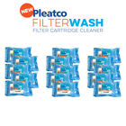 Pleatco Pool Filter Wash Fifteen Pack  Cartridge Filter Cleaner 15 Pack