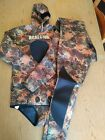 REALON Hunter Spearfishing Wetsuit Neoprene 3MM Camouflaged Freediving Size XL