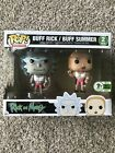 Funko Pop! Rick and Morty Buff Rick Buff Summer 2 Pack ECCC 2017 Exclusive