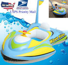 MotoBoat baby kids toddler inflatable pool float raft tube seat Summer Pool Toy