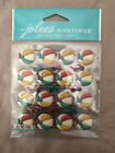 Jolees Boutique Scrapbooking Dimensional Stickers BEACH BALL REPEATS