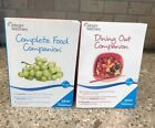 Lot 2 WEIGHT WATCHERS 2010 COMPLETE FOOD Companion Dining Out Guide Points Plus