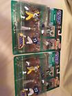 Lot of 2 Starting Lineup Marshall Faulk/Eddie George (Classic Doubles 2000 NFL)