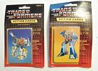 (2) 1985 HASBRO TRANSFORMERS SEALED PACKS - 8 CARDS 1 STICKER PER PACK
