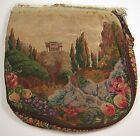 Vintage Petit Point Purse Body Temple crafts / doll house / reuse / jewelry