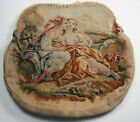 Antique French Aubusson Tapestry Purse Body restore / repurpose / crafts / dolls