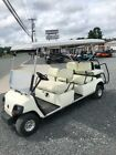 2006 yamaha gas golf cart 6 seat limo with lights and warranty