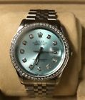 Rolex Oyster Perpetual Datejust, 36mm Watch with Diamond Accents