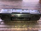Vintage PANASONIC Portable Stereo Boombox Cassette Player Radio Model RX-FT550