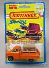 1976 Matchbox 66 FORD TRANSIT TRUCK Superfast factory sealed card