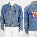 1990s Vintage Patched Jean Jacket Soco House of Blues 1998 Southern comfort XL