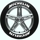 Michelin car tire letter decal whtadhesive backed for 16 17 18 19 wheel