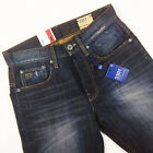 BNWT G STAR 3301 STRAIGHT MENS JEANS 28x32 FALL DENIM VINTAGE BLUE AGED