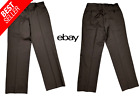 Men's Very Nice *PRONTO UOMO* Brown Casual Career Drss Pants Size 42x36
