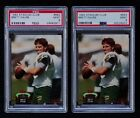 1992 STADIUM CLUB #683 BRETT FAVRE LOT OF 2 PSA 9 ** MINT **