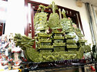 FANTASTIC NEPHRITE JADE DRAGON SHIP LARGE SIZE 3' x 3 1/2' } REDUCED PICKUP ONLY