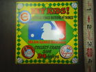NOS Ad Card from a Gumball machine 1968 Baseball Rings butons ad Card