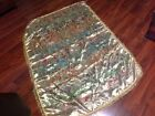 Vintage Japanese Gold And Multicolor Silk Wall Hanging? Tablecloth. Couch Throw?