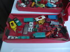 Vintage Matchbox Lesney Car And Parts Lot With Case