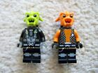 LEGO Space Police - Rare Alien Minifigs - Kranxx & Rench - Excellent