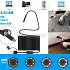 2/5/10M 3in1 8LED 8MM USB Endoscope Inspection Camera IP68 For Huawei P9 Phone