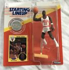1991 Michael Jordan Starting Lineup Figure with Card & Coin In ExMt Condition