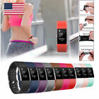 Silicone Rubber Sport Bracelet Bands Strap Wristband For Fitbit Charge 2 Warch
