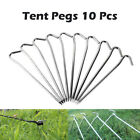 10pcs Aluminum Tent Pegs Ground Stakes Nail For Outdoor Camping Hiking 18CM