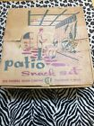 BRAND NEW VINTAGE FROM 1950's The Federal Glass Company Patio Snack Set
