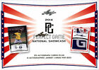 2014 LEAF PERFECT GAME SHOWCASE 15 BOX SEALED HOBBY CASE 375 AUTOS BRADY SINGER
