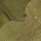 Green Suede Leather Hides Lambskin Skins Embossed Hide Upholstery Fabric FS866