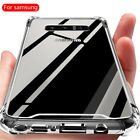 Shockproof Galaxy S9 S8+ Plus Note 8 Tough Soft Gel Clear Case Cover for Samsung