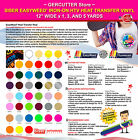Siser easyweed iron on htv heat transfer vinyl 12 wide x 1 3 and 5 yards