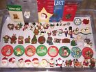 Vintage Hallmark Pin Lot of Christmas Winter Holiday Lapel Pins Brooches CHOICE