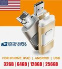 32 64 128 256GB OTG iFlash USB Drive Disk Stick Thumb For iPhone X 8 iPhone 7 6