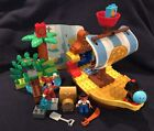 Lego Duplo Jakes Pirate Ship Bucky With Treasure Island And Figures